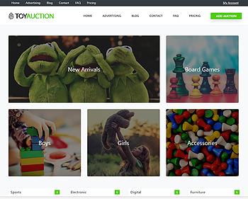 Auction – Toys