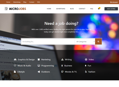 Micro Jobs – Brown