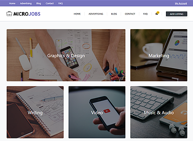 Micro Jobs – Purple
