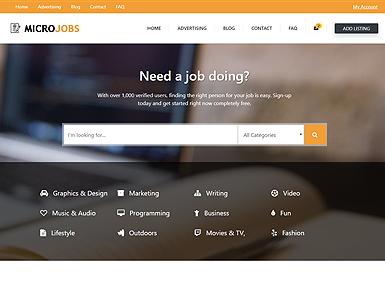 Micro Jobs – Orange