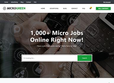 Micro Jobs – Green