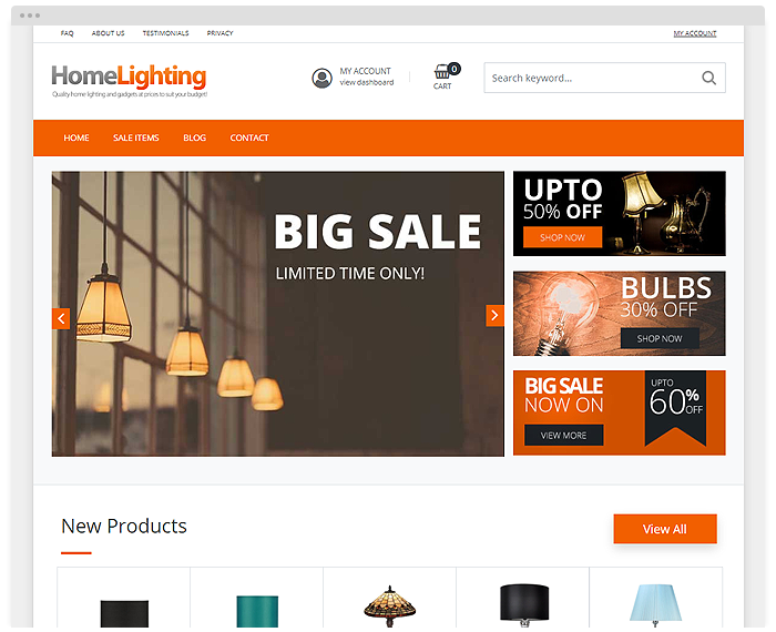Shop – Home Lighting demo