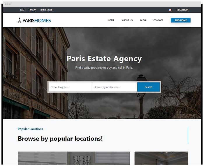 Real Estate – France demo