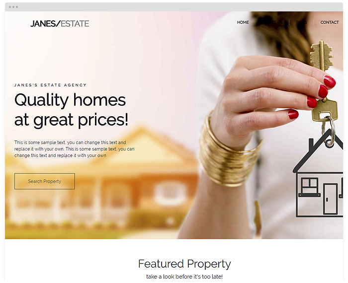 Real Estate – Janes demo