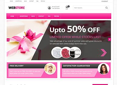 Webstore Pink
