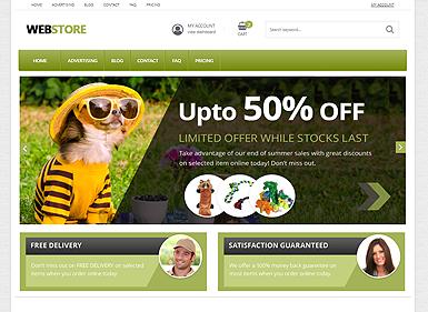 Webstore Green