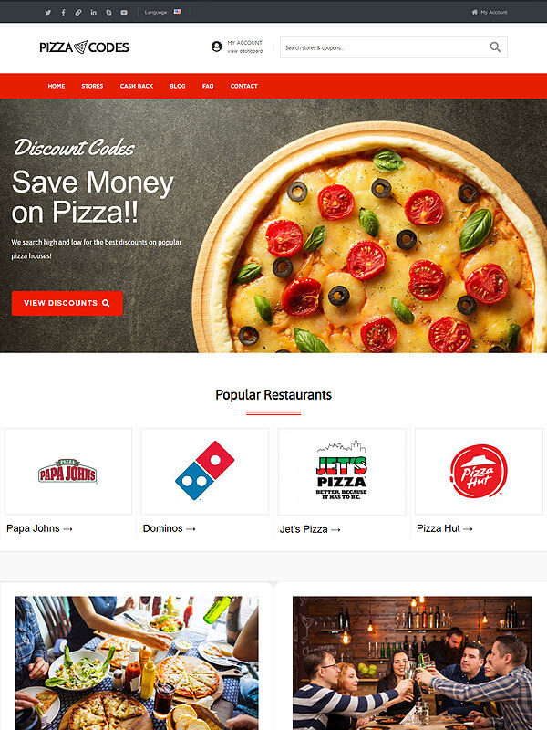 Pizza Coupon Codes