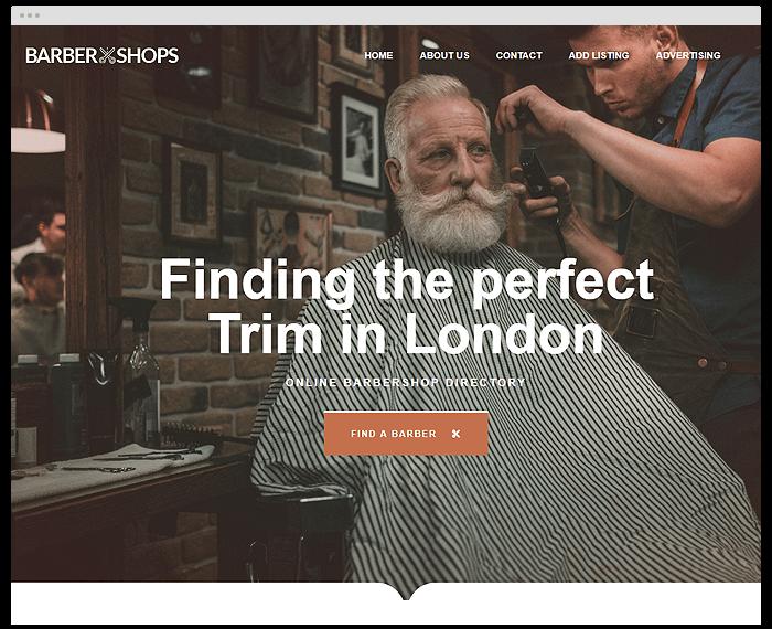Barbershop Directory demo