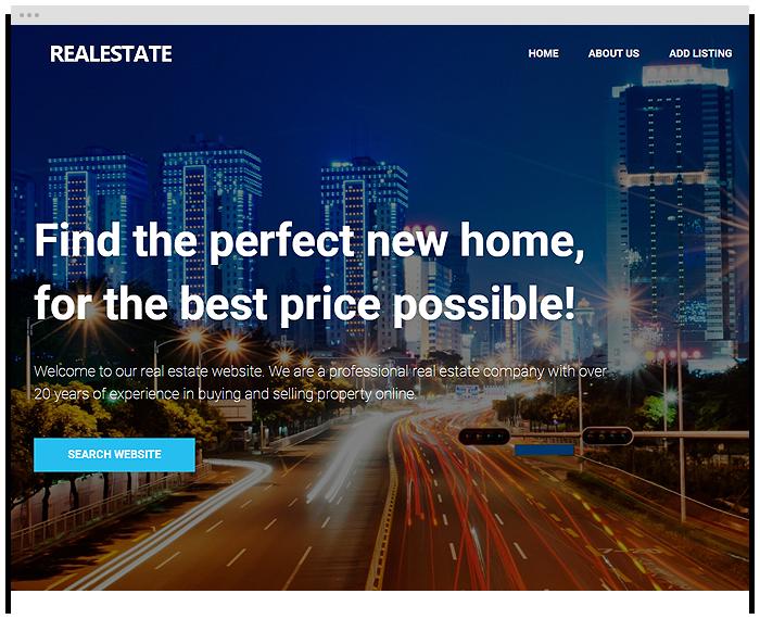 Real Estate – Top Dog demo