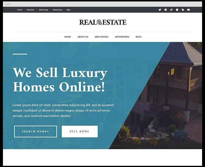 Real Estate – Sold demo
