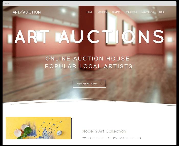 Art Auction demo