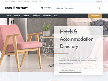 Hotel Directory Theme