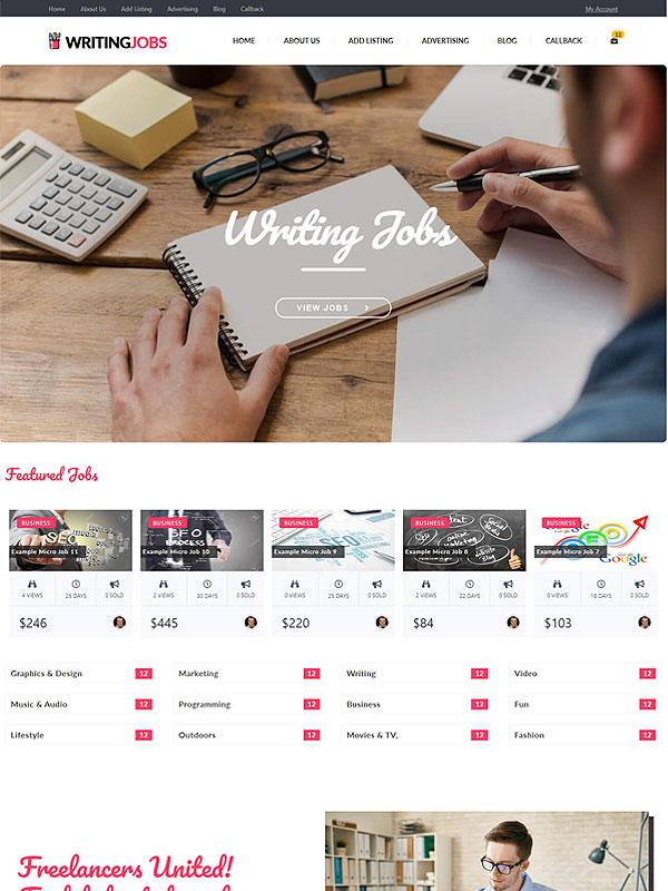 Writers Micro Jobs