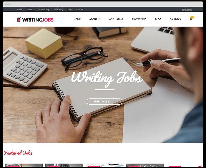 Writers Micro Jobs demo