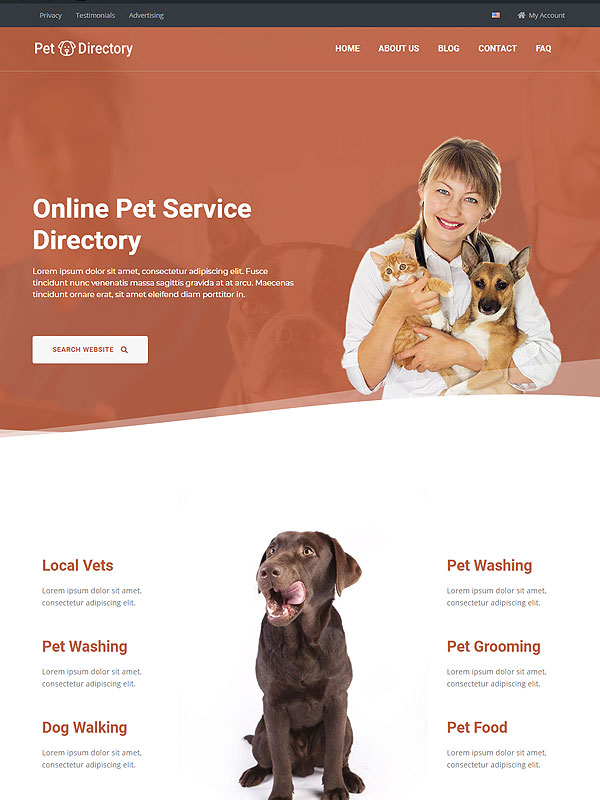 Pet Service Directory