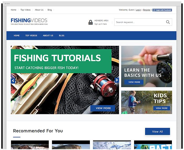 Fishing Tutorials demo