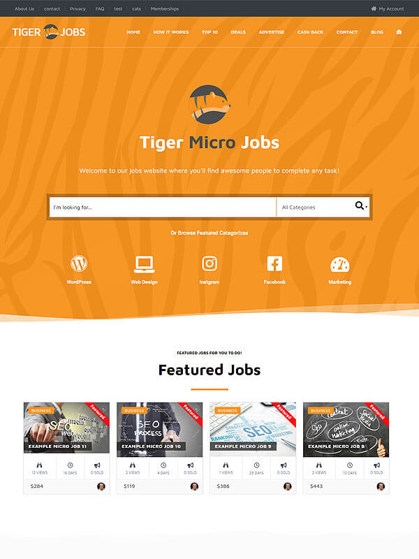 Tiger Micro Jobs
