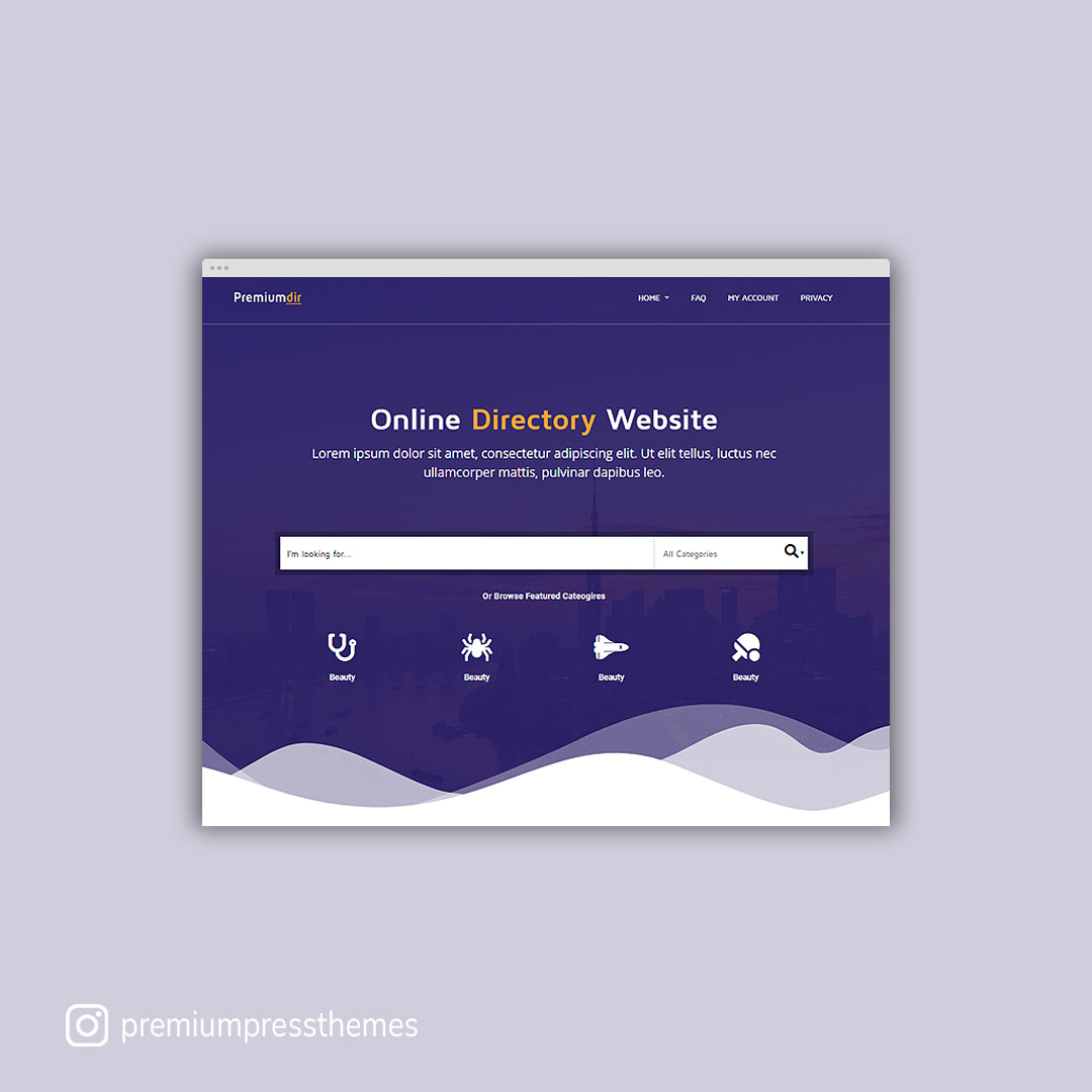 New PremiumDir WordPress Theme
