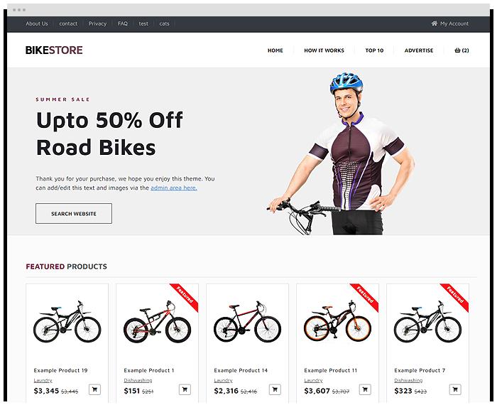 Bike Shop demo