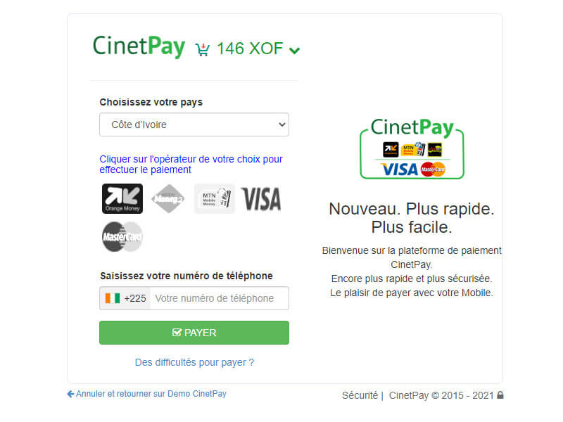 What is Cinetpay WordPress Plugin?